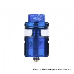 Authentic Wotofo Profile Unity RTA Rebuildable Tank Atomizer - Blue, Stainless Steel, 5ml, 25mm Diameter
