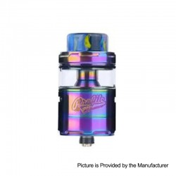 Authentic Wotofo Profile Unity RTA Rebuildable Tank Atomizer - Rainbow, Stainless Steel, 5ml, 25mm Diameter