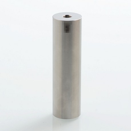 SXK Atto Style Mechanical Tube Mod - Silver, Stainless Steel, 1 x 18350 / 18650