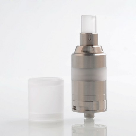 YFTK KA V8 Style RTA Rebuildable Tank Atomizer w/ Nano Tank Kit - Silver, 316 Stainless Steel, 2.8ml, 22mm Diameter