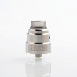Reload S Style RDA Rebuildable Dripping Atomizer w/ BF Pin - Silver, Stainless Steel, 24mm Diameter
