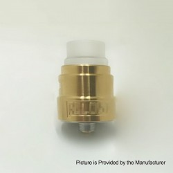 Reload S Style RDA Rebuildable Dripping Atomizer w/ BF Pin - Gold, Stainless Steel, 22mm Diameter