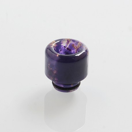 510 Replacement Drip Tip for RDA / RTA / Sub Ohm Tank Atomizer - Purple, Resin, 14mm