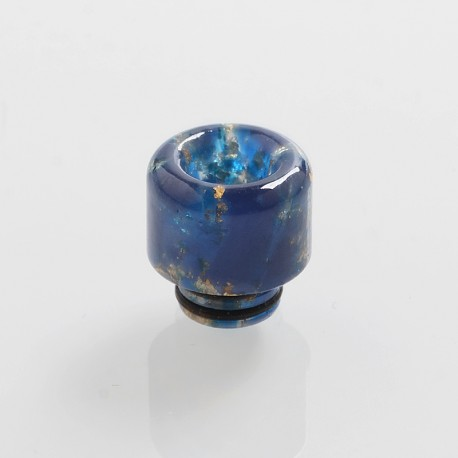 510 Replacement Drip Tip for RDA / RTA / Sub Ohm Tank Atomizer - Blue, Resin, 14mm