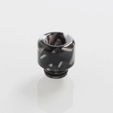 510 Replacement Drip Tip for RDA / RTA / Sub Ohm Tank Atomizer - Black, Resin, 14mm