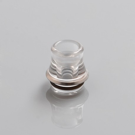 Fujicco Style 510 Drip Tip for RDA / RTA / Sub Ohm Tank Atomizer - Transparent, PC, 11.4mm