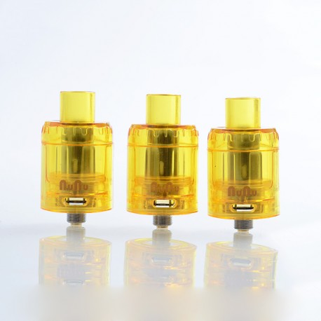 Authentic Sikary Vapor OG Disposable Sub Ohm Tank Clearomizer - Yellow, 3ml, 0.15 Ohm, 24mm Diameter (3 PCS)