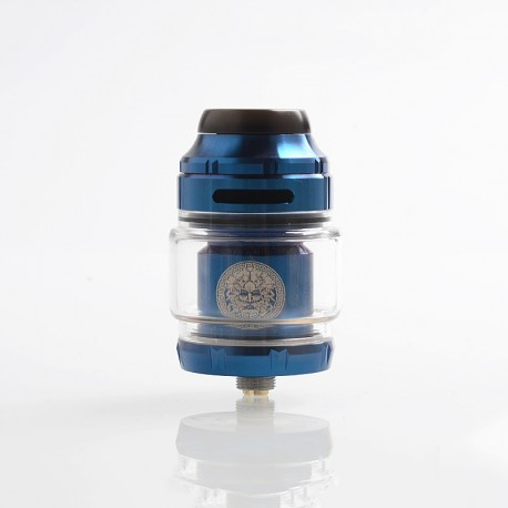 Authentic GeekVape Zeus X RTA Rebuildable Tank Atomizer - Blue, Stainless Steel, 4.5ml, 25mm Diameter