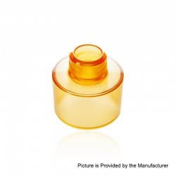 Replacement Bell Tank for 24mm KF Lite 2019 Style RTA - Ultem, PEI, 3.5ml