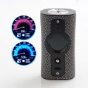 Authentic Vsticking VK530 200W TC VW Variable Wattage Box Mod - Carbon Black, 5~200W, 2 x 18650