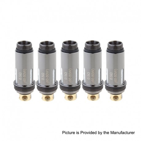 Authentic Aspire Replacement Coil Head for Cleito Pro Tank - 0.5 Ohm (60~80W) (5 PCS)
