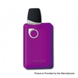 Authentic Ovanty KOOB 10W 1000mAh Pod System Starter Kit - Purple, 1.5ml, 1.5 Ohm