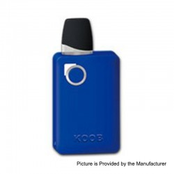Authentic Ovanty KOOB 10W 1000mAh Pod System Starter Kit - Blue, 1.5ml, 1.5 Ohm
