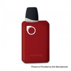 Authentic Ovanty KOOB 10W 1000mAh Pod System Starter Kit - Red, 1.5ml, 1.5 Ohm