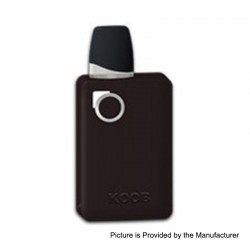 Authentic Ovanty KOOB 10W 1000mAh Pod System Starter Kit - Gun Metal, 1.5ml, 1.5 Ohm