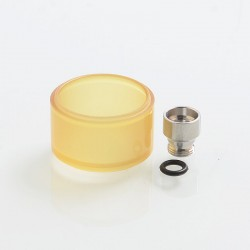 YFTK Replacement Long Mode Tank Kit for 22mm KF Lite 2019 Style RTA - Ultem, PEI, 4ml