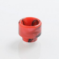 Authentic Vapefly Replacement Drip Tip for Brunhilde Top Coiler RTA - Red, Resin