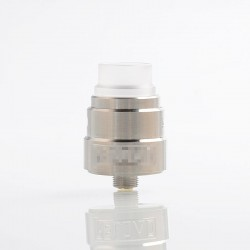 Reload S Style RDA Rebuildable Dripping Atomizer w/ BF Pin - Silver, Stainless Steel, 22mm Diameter