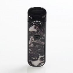 Authentic SMOKTech SMOK Nord 15W 1100mAh Pod System Starter Kit - Black White Resin, 1.4 Ohm / 0.6 Ohm, 3ml