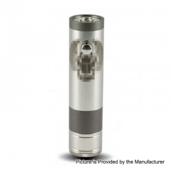 ShenRay TF Scarab Pro 25mm Style Mechanical Mod - Gun Metal, Stainless Steel, 1 x 18350 / 18650 / 20700 / 21700