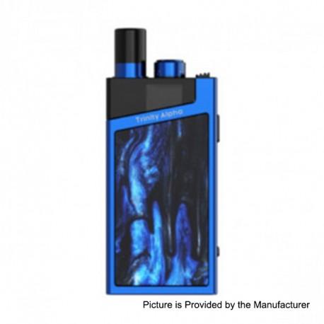 Authentic SMOKTech SMOK Trinity Alpha Resin 1000mAh Pod Starter Kit Standard Edition - Prism Blue, 2.8ml