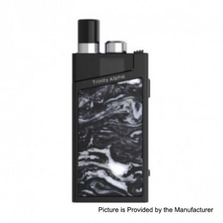 Authentic SMOKTech SMOK Trinity Alpha Resin 1000mAh Pod Starter Kit Standard Edition - Bright Black, 2.8ml