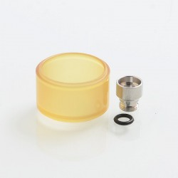 Replacement Long Mode Tank Kit for 22mm KF Lite 2019 Style RTA - Ultem, PEI, 4ml