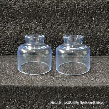 Authentic Steam Crave Glaz RDSA V1.1 Replacement Glass Top Cap - Transparent (2 PCS)
