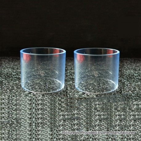 Authentic Steam Crave Glaz RTA V2 Replacement Glass Tank Tube - Transparent, 7ml (2 PCS)