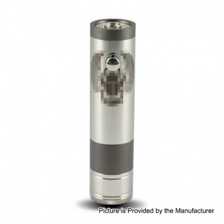 TF Scarab Pro 25mm Style Mechanical Mod - Gun Metal, Stainless Steel, 1 x 18350 / 18650 / 20700 / 21700