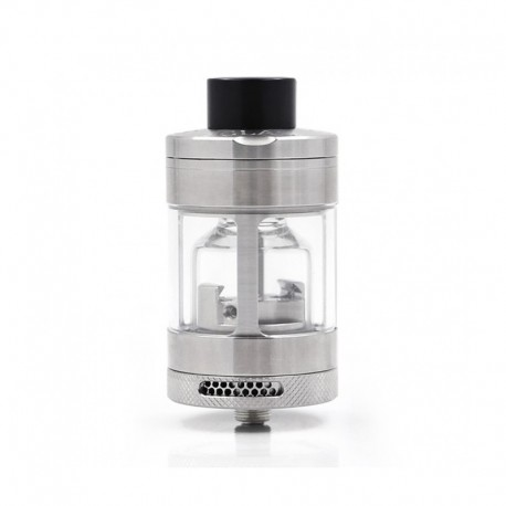 Authentic Steam Crave Glaz RTA V2 31mm Rebuildable Tank Atomizer - Silver, 7 / 10ml, 31mm Diameter