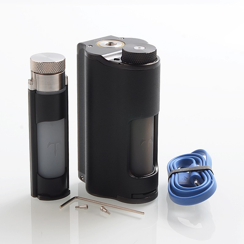 Buy Dovpo Topside Dual 200W Black 10ml TC VW Squonk Box Mod