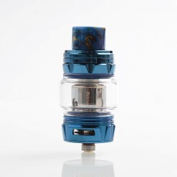 Authentic Horizon Falcon King Sub Ohm Tank Clearomizer - Blue, 6ml, 0.38 / 0.16 Ohm, 25.4mm Diameter
