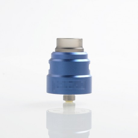 Reload S Style RDA Rebuildable Dripping Atomizer w/ BF Pin - Blue, Aluminum + Stainless Steel, 24mm Diameter