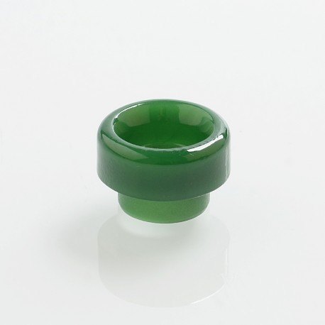 810 Color Changing Drip Tip for 528 Goon / Kennedy / Reload RDA - Dark Green, Resin, 11.5mm