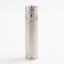 ShenRay TF Scarab Pro 25mm Style Mechanical Mod - Silver, Stainless Steel, 1 x 18350 / 18650 / 20700 / 21700
