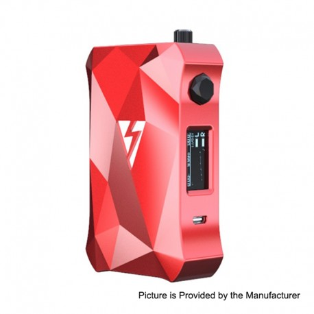 Authentic Vapemons Magic Mod 228W TC VW Variable Wattage Box Mod - Red, 7~228W, 2 x 18650