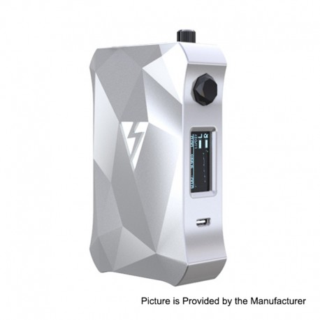 Authentic Vapemons Magic Mod 228W TC VW Variable Wattage Box Mod - White, 7~228W, 2 x 18650