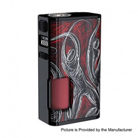 Authentic Wismec Luxotic Surface 80W TC VW Squonk Box Mod - Basketball, 1~80W, 6.5ml, 1 x 18650