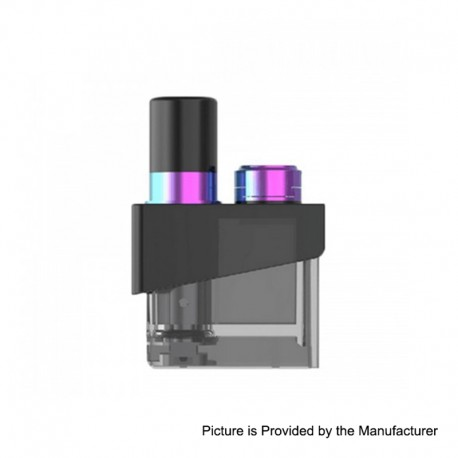 Authentic SMOKTech SMOK Trinity Alpha Kit Replacement Pod Cartridge - Prism Rainbow, 2.8ml