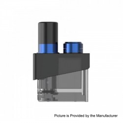 Authentic SMOKTech SMOK Trinity Alpha Kit Replacement Pod Cartridge - Prism Blue, 2.8ml
