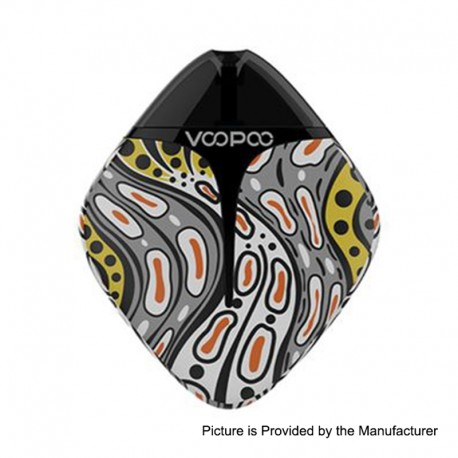 Authentic Voopoo Finic Fish 350mAh 12W Pod System Starter Kit - Footsteps, 1.7ml, 1.6 Ohm