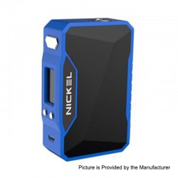 Authentic Dovpo Nickel 230W TC VW Variable Wattage Box Mod - Blue + Space Black, 10~230W, 2 x 18650