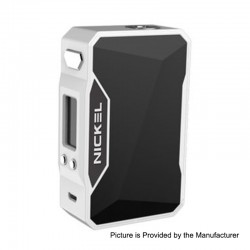 Authentic Dovpo Nickel 230W TC VW Variable Wattage Box Mod - White + Space Black, 10~230W, 2 x 18650