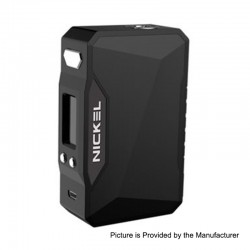 Authentic Dovpo Nickel 230W TC VW Variable Wattage Box Mod - Black + Space Black, 10~230W, 2 x 18650