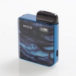 Authentic SMOKTech SMOK Mico 26W 700mAh Pod System Starter Kit - Prism Blue, 1.7ml, 0.8 / 1.0 Ohm
