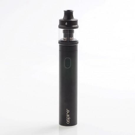 Authentic Aspire Tigon 2600mAh Starter Kit - Black, 3.5ml, 1.2 / 0.4 Ohm, 24.5mm Diameter
