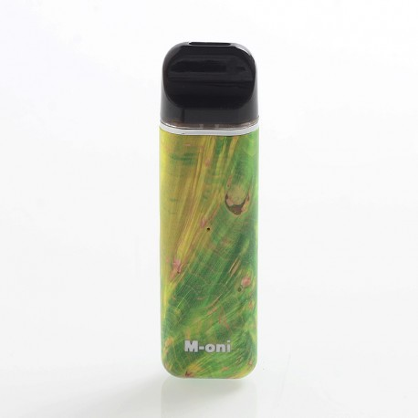 Authentic Asmodus Moni 16W 450mAh Stabilized Wood Pod System Starter Kit - Random Color, 2ml, 1.5 Ohm