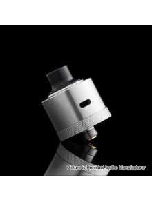 Evade Hydro Style RDA Rebuildable Dripping Atomizer w/ BF Pin - Silver, Stainless Steel, 22mm Diameter