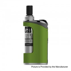 Authentic Justfog Compact 14 12W 1500mAh Starter Kit - Green, 1.8ml, 1.6 Ohm / 1.2 Ohm